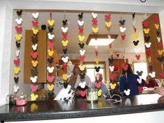 All about Mickey Mouse decorations.  See more Mickey Mouse birthday party and kids birthday party ideas at www.one-stop-party-ideas.com