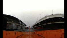 ONBOARD IN 360! Fernando Alonso braves soaking wet track in Barcelona