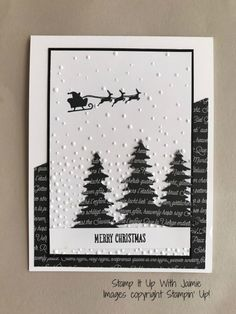 Stampin' Up! CAS Merry Christmas – Stamp It Up with Jaimie