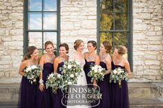 Gene Leahy Mall The Old Market Omaha Downtown Bridesmaids Photos Fall wedding - click to view full gallery
