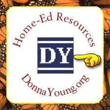 Home-Ed Resources - DonnaYoung.org homeschool printables.