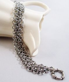 Lace Chainmaille Bracelet