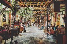 Le Comptoir Général is a secret manor in which you can have a drink and eat in http://ift.tt/1SaQoha