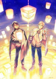 Naruto & Sasuke  #Sasunaru