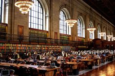 New York Public Library ... one of my favorite spots in NYC!