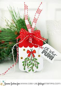 In My Creative Opinion: 25 Days of Christmas Tags - Day1