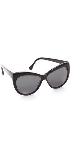oversized cat eye shades