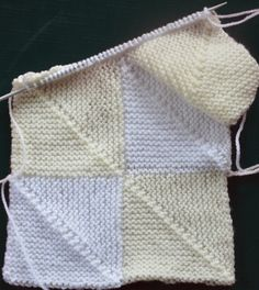 The Curious Krafter: Domino Baby Blanket
