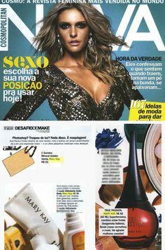Sombra Mineral, Loção Hidratante Satin Body®  e True Passion™ arrasando nas páginas da Nova :D