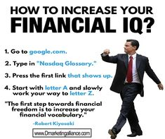 Here are ways for you to increase your financial IQ! – What are your thought… – Finance tips for small business Financial Quotes, Financial Literacy, Financial Tips, Financial Accounting, Business Money, Business Motivation, Quotes Motivation, Investing Money, Budgeting Finances