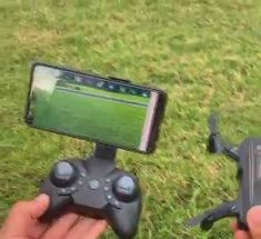 Foldable FPV WiFi RC Quadcopter Remote Control Drone 【Dual HD cameras】-this RC drone has two cameras. You can switch the two cameras optionally when playing the drone and enjoy different scenery from Cool Tech Gadgets, Gadgets And Gizmos, Spy Gadgets, Electronics Gadgets, Cool Ideas, Inventions Sympas, Foto Zoom, Remote Control Drone, Camper Hacks