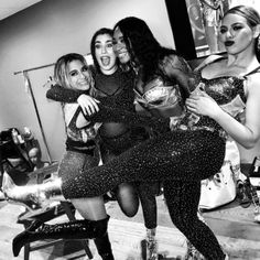 Fifth Harmony backstage at the VMAs Ally Brooke, Hamilton, Fifth Harmony Camren, America Ferrera, Camila And Lauren, Dinah Jane, Best Dance, 1 Girl, Blake Lively