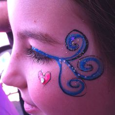 Never underestimate what you can do with face paint, glitter, and sequins...