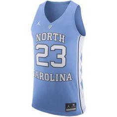 5711e6d0bd1 Jordan College Authentic Jersey - Mens Light Blue Size M Michael Jordan  Clothing