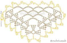 Punto Red Crochet, Poncho Crochet, Crochet Triangle Scarf, Crochet Jacket, Crochet Blanket Patterns, Crochet Scarves, Wedding Shawl, Shawls And Wraps, Crochet Projects