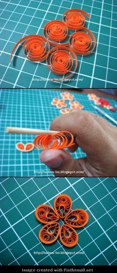 My Quilling Soul: Malaysian flower.