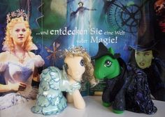My Little Pony Arena » Forums » Creativity » Customs » WICKED ~ Elphaba and Galinda ~ *huge pic's*