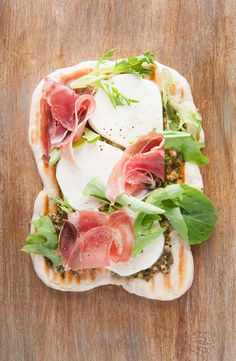 make your own flatbread pizzas!
