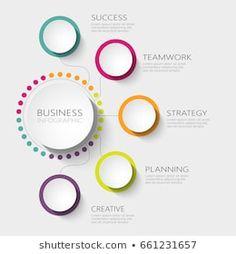 Infographic Template Powerpoint, Creative Powerpoint Presentations, Powerpoint Design Templates, Circle Infographic, Web Design, Food Graphic Design, Powerpoint Background Design, Instructional Design, Presentation Design