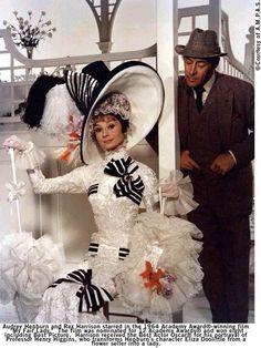 "Rex Harrison with Audrey Hepburn in ""My Fair Lady"" (1964)  Rex Harrison - Best Actor Oscar 1964"