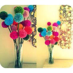 Pom Pom Bouquet