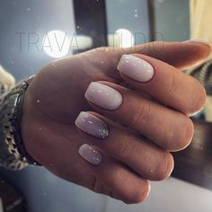 Make an original manicure for Valentine's Day - My Nails Cute Nails, Pretty Nails, Classy Almond Nails, Milky Nails, No Chip Nails, Oval Nails, Dipped Nails, Minimalist Nails, Powder Nails