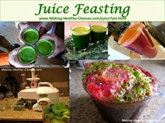Juice Fast - Juice Feasting.  Click through to read all the details of our recent 10 day Juice Feast.