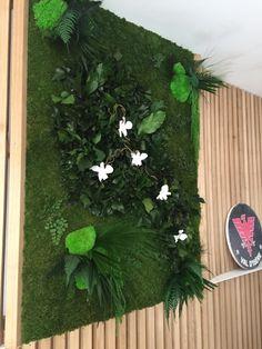 mur vegetal stabilise #vegetal #indoor