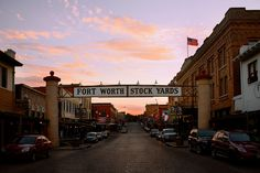 The Old Fort Worth Stockyards  Photograph ©KyleBarnes