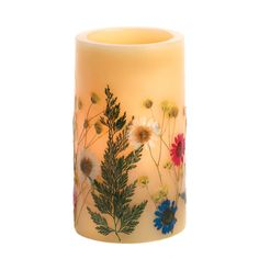 Name Your Price! www.GrabYourPrice.com  Send a message straight from your heart with a marvelous gift for someone special! Real pressed flowers and uplifting poems make these flameless LED candles a l