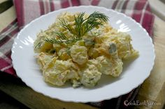 Nana's favorite Greek cooking recipes with photos and directions step by step. No Cook Desserts, Dessert Recipes, Feta, Potato Salad, Salads, Food And Drink, Cooking Recipes, Chicken, Ethnic Recipes