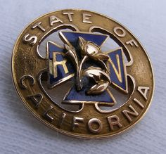 Registered Nurse State of California - Early State Issued Pin.