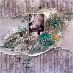 Mary's Crafty Moments: ''My Absolute Favourite'' - DT Layout for Maja Des...