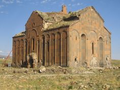 The Armenian cathedral of Ani, completed in the early 11th century.
