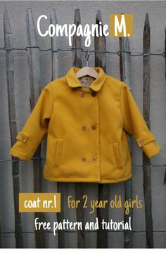 Compagnie M.: Coat nr. 1 free pattern for 2 year old girls (da domandare via mail)