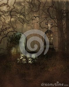 Mystical Cemetery - Download From Over 26 Million High Quality Stock Photos, Images, Vectors. Sign up for FREE today. Image: 44535184