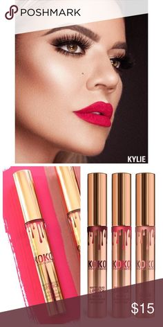 "Kylie Koko Collection ""OKURRR"" matte lip color Brand new. I purchased the collaboration kit and could tell that this would be a bit too bold for my style as soon as I opened. This is only for the one tube. No longer have the original box - sorry! Kylie Cosmetics Makeup Lipstick"