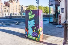 Dublin Street Art - Temple Bar Area -  #infomatique