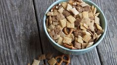 Slow-Cooker Original Chex™ Mix-can probably do this with all Chex mix recipes I would think.