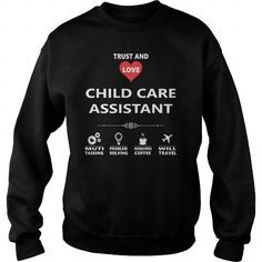 Cool CHILD CARE ASSISTANT JOB TSHIRT GUYS LADIES YOUTH TEE HOODIE SWEAT SHIRT VNECK UNISEX JOBS Shirts & Tees
