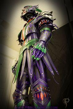 Leather Medieval Joker Armor Preview by Azmal.deviantart.com on @deviantART