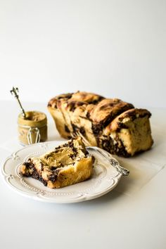 Chocolate and Hazelnut Pull-Apart Brioche   butter and brioche