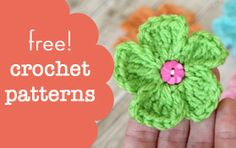 Free Crochet patterns (Hats, Blankets, Flowers,etc) from Daisy Cottage Designs