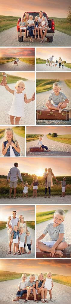 Summer Family Photos, Country Family Photos, Child Photography, Midwest Photography, What to Wear for Photos