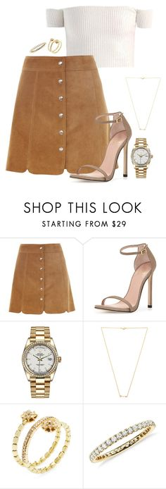 """""""Untitled #2369"""" by moxfordf on Polyvore featuring Étoile Isabel Marant, Stuart Weitzman, Rolex, Wanderlust + Co, Shay and Blue Nile"""