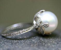 Cathy Waterman Pearl Ring
