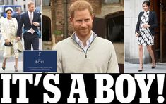 Meghan gives birth to a healthy boy Prince Harry And Megan, Prince Henry, Harry And Meghan, Prince William, British Royal Family Members, British Royal Families, Prince And Princess, Princess Kate, Meghan Markle