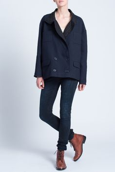 Veste en cuir pour femme de qualité | Mode Beyeler