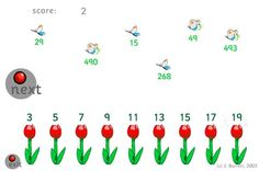 Free math games for early numeracy skills. Great on the computer or SMART board Free math games for early numeracy skills. Great on the computer or SMART board Free Math Games, Math Games For Kids, Fun Math Activities, Learning Games, Activity Games, Maths Resources, School Resources, Kids Learning, Computer Teacher