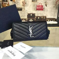 product code # 8574582 100% Genuine Leather Matching Quality of Original YSL Production (imported from Europe) Comes with dust bag, authentication cards, box, shopping bag and pamphlets. Receipts are only included upon request. Counter Quality Replica (True Mirror Image Replica) Dimensions: 19cm x 11cm (Length x Height x Width) Our Guarantee: The handbag you receive...READ MORE